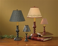 Black Candlestick Lamp 23""