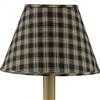 Sturbridge Black Lamp Shade 12""