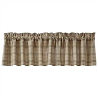 Fieldstone Plaid Valance