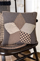 Farmhouse Star Quilted Pillow Cover