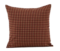 "Patriotic Patch Fabric Pillow Cover 16"" x 16"""
