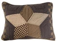 Farmhouse Star Quilted Standard Sham