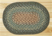 Oval Trivet - Dark Green