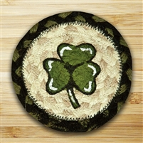 Shamrock Braided Coaster - Set of 4