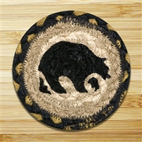 Bear Braided Coaster - Set of 4