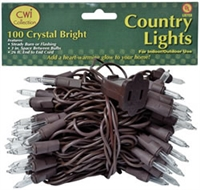 Crystal Bright White Light Strand 100 ct