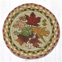 Round Trivet - Autumn Leaves
