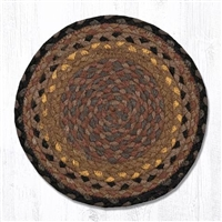 Round Trivet - Brown/Black/Charcoal
