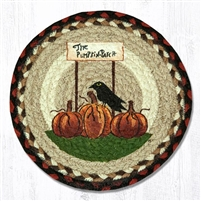 Round Trivet - Pumpkin Patch
