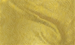 "Gold Brocade, 55/56"" Wide."
