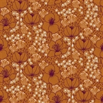 "Emilia Collection - ""Meghan"" Copper Cotton Fabric - 44/45"" wide"