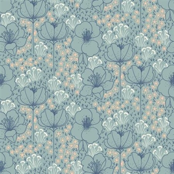 "Emilia Collection - ""Meghan"" Seafoam Rayon Fabric - 44/45"" wide"