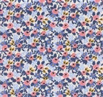 """Periwinkle"" in Rosa Cotton Fabric - 44/45"" wide"