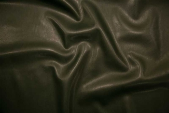 "Pine Green Water-Repellent Pleather, 55"" wide"