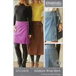 Indygo Junction Pattern, SideKick Wrap Skirt