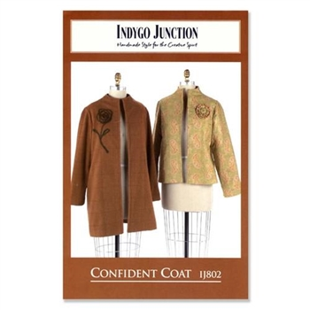 "Indygo Junction Pattern - ""Confident Coat"""