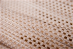 Novelty Woven with Brown & White