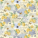 "Citrons from the Limoncello collection, 44/45"" wide"