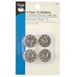 Dritz Class 15 Metal Bobbins - Pack of 4