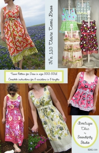 Serendipity Studio Pattern - Claire Cami Dress
