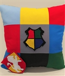 The Hogwarts Nine Patch Pillow