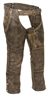 Men's Leather Distressed Thermal Lined 4 Pocket Chaps