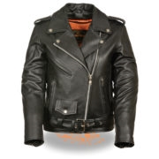 Women's Traditional Leather Jacket