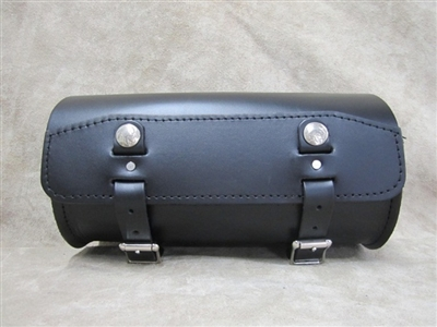 Extra Wide Round Leather Tool Bag