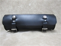 Extra Long Round Leather Tool Bag
