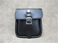 Leather Sissy Bar Bag