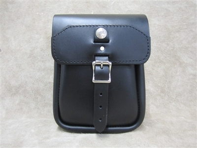 Extra Large Leather Sissy Bar Bag