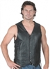Men's 10-Pocket Vest with Side Laces and Gun Pockets