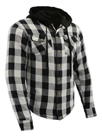 Men's Flannel Shirt with Kevlar Reinforced Impact Zones