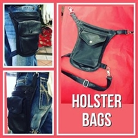 Phoenix Motor Leathers Holster Bag
