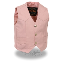 Child's Basic Vest with Snaps
