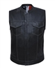 Men's USA Lined SOA Leather Vest
