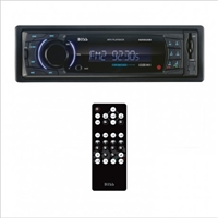 Boss Single Din Mechless Media Receiver, Bluetooth