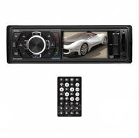 "Boss 3.2"" Single Din Mechless Receiver, Bluetooth, USB/SD, Front Aux Input"