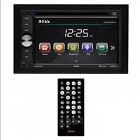 "Boss Double Din 6.2"" Touchscreen with BT/Remote 320 Watts"