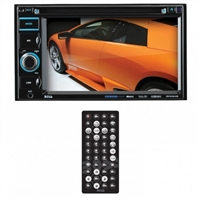 "Boss 6.2"" DDin Receiver, Bluetooth, DVD/CD/MP3, USB/SD, Front Aux"