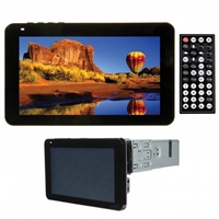 "Tview Oversized 7"" In-Dash Touch Screen W/Built in DVD , USB, SD, AUX, Bluetooth, detachable f"