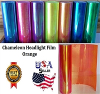 Chameleon Headlight Film-Orange (12in X 32ft)