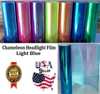 Chameleon Headlight Film-Light Blue (12in X 32ft)