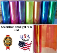 Chameleon Headlight Film-Red (12in X 32ft)
