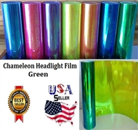Chameleon Headlight Film-Green (12in X 32ft)