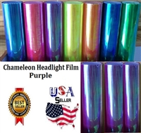 Chameleon Headlight Film-Purple (12in X 32ft)