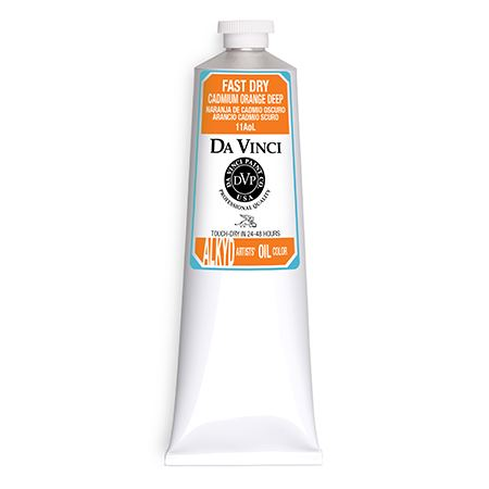 (11) Cadmium Orange Deep (150mL Fast Dry Oil Paint)