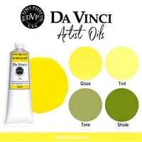 (02) Da Vinci Yellow (150mL Oil Paint)