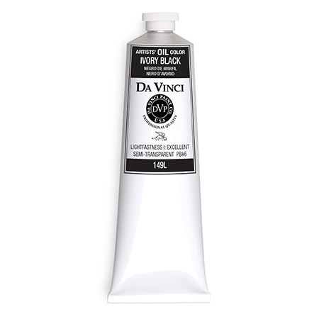 (54) Ivory Black (150mL Oil Paint)