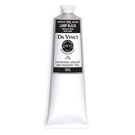 (53) Lamp Black (150mL Oil Paint)